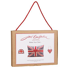 Buy Jan Constantine Union Jack Cushion Cover Kit, Small Online at johnlewis.com