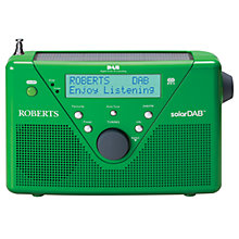 Buy ROBERTS Solar DAB 2 Digital Radio Online at johnlewis.com