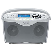 Buy ROBERTS Stream 205 DAB Internet Radio Online at johnlewis.com
