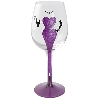Lolita Diva Wine Glass