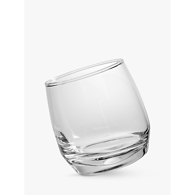 Sagaform Round Bottom Whisky Glasses, Set of 6, Clear