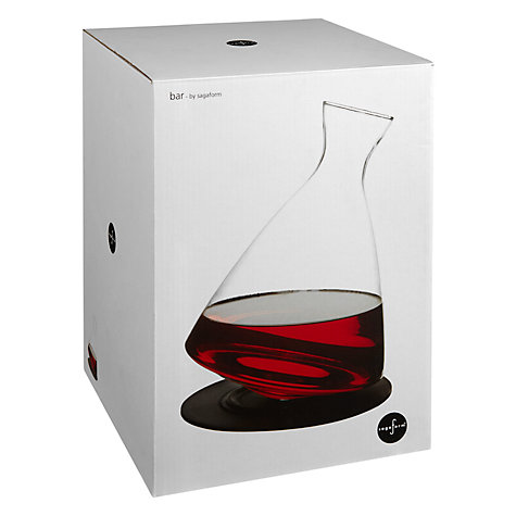 Buy Sagaform Round Bottom Carafe and Tray Online at johnlewis.com
