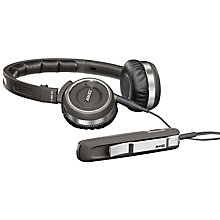Buy AKG K480 Noise Cancelling On-Ear Headphones, Black Online at johnlewis.com