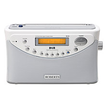 Buy ROBERTS Gemini 45 DAB Digital Radio, White Online at johnlewis.com
