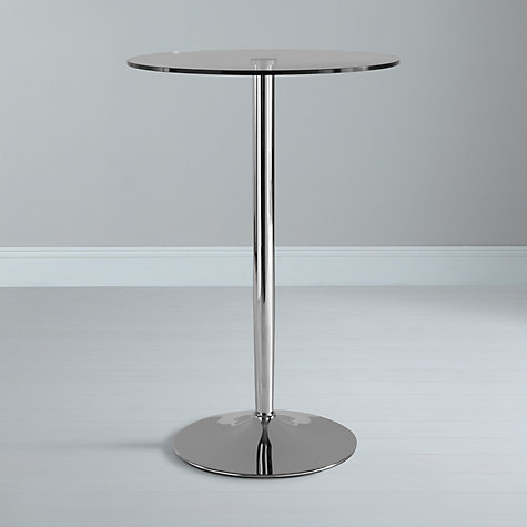 Buy John Lewis Pearl Round Bar Table Online at johnlewis.com