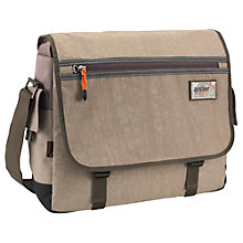 Buy Antler Urbanite II Messenger Bag, Stone Online at johnlewis.com