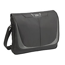 Buy Antler Executec Laptop Messenger Bag, Black Online at johnlewis.com