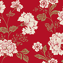 Buy John Lewis Indian Summer Party Wallpaper, Chilli Online at johnlewis.com