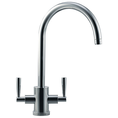 Buy Franke Olympus Mixer Tap, Silk Steel Online at johnlewis.com