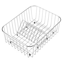 Buy Blanco Crockery Basket, Stainless Steel Online at johnlewis.com