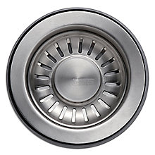 Buy Franke GM9 Basket Strainer Waste, Stainless Steel Online at johnlewis.com