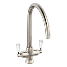 Buy John Lewis Arc Tap, Brushed Nickel Online at johnlewis.com