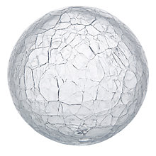 Buy LSA Glass Crackle Globe Online at johnlewis.com