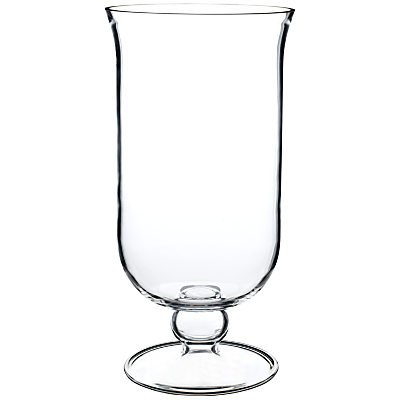 John Lewis Glass Pillar Candle Holder