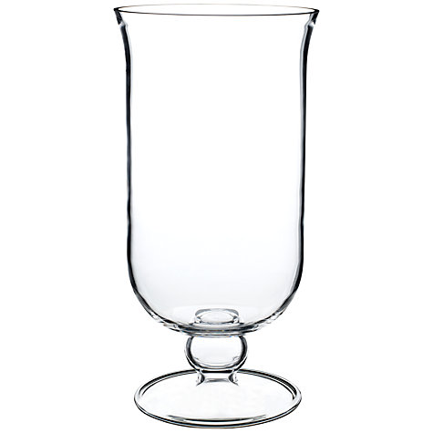 Buy John Lewis Glass Pillar Candle Holder Online at johnlewis.com