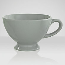 Buy Brissi Breakfast Jumbo Cup, Grey Online at johnlewis.com
