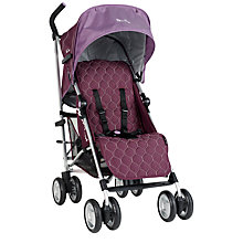 Buy Silver Cross Zest Vogue Buggy, Aubergine Online at johnlewis.com