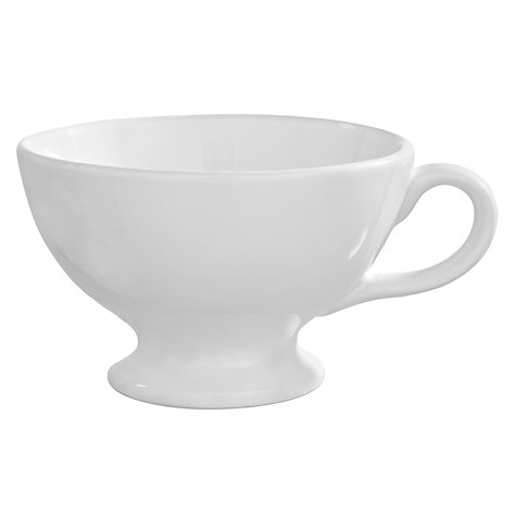 Buy Brissi Breakfast Jumbo Cup, White Online at johnlewis.com