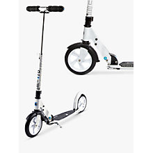 Buy Micro Original Micro Scooter, White Online at johnlewis.com