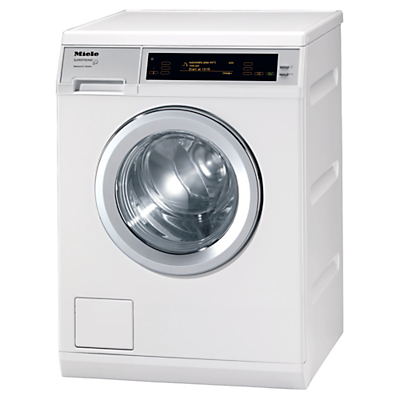 Miele W5000 Supertronic Freestanding Washing Machine, 8kg Load, A+++ Energy Rating, 1600rpm Spin, White
