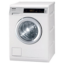 Buy Miele W5000 Supertronic Washing Machine, 8kg Load, A+++ Energy Rating, 1600rpm Spin, White Online at johnlewis.com