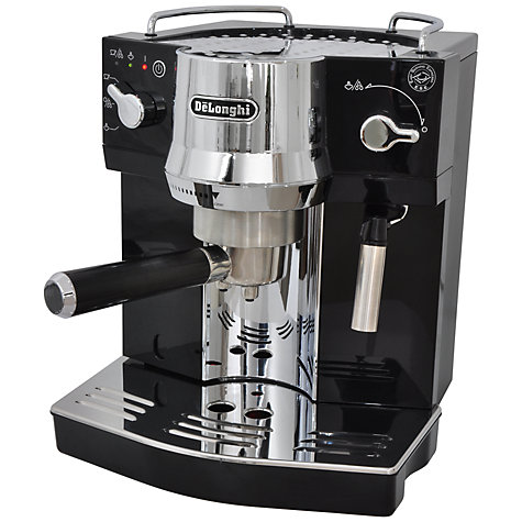 Buy De'Longhi Espresso EC820.B Coffee Machine, Black/Chrome Online at johnlewis.com