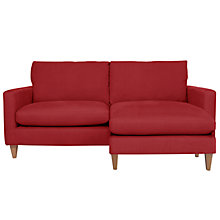Buy John Lewis Bailey Large Chaise, Oban Red Online at johnlewis.com