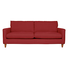 Buy John Lewis Bailey Grand Sofa, Oban Red Online at johnlewis.com
