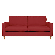 Buy John Lewis Bailey Large Sofa, Oban Red Online at johnlewis.com