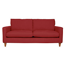John Lewis Bailey Large Sofa, Oban Red