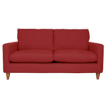 Buy John Lewis Bailey Medium Sofa, Oban Red Online at johnlewis.com