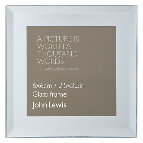 Buy John Lewis Mini Mirror Frame, Sqaure Online at johnlewis.com