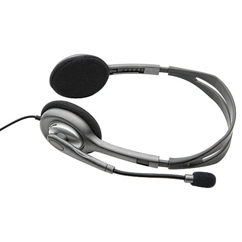 Buy Logitech H110 Stereo Headset Online at johnlewis.com