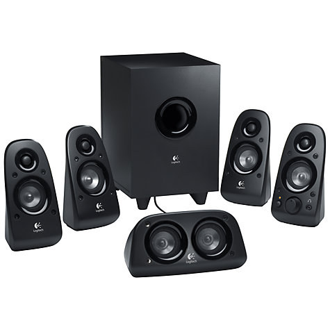 Buy Logitech Z506 5.1 Surround Sound Speaker System Online at johnlewis.com