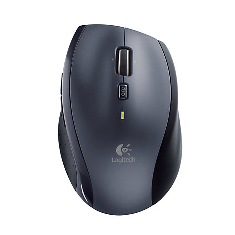 Buy Logitech M705 Wireless Mouse, Silver Online at johnlewis.com