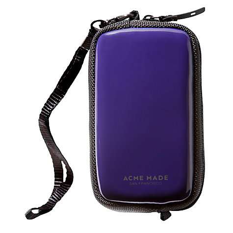 Buy Acme Made CMZ Camera Case, Purple Online at johnlewis.com
