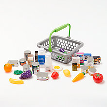 Buy John Lewis Basket & Play Food Online at johnlewis.com