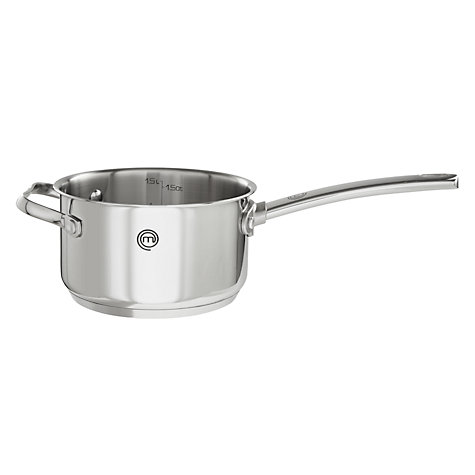 Buy MasterChef Saucepans with Helper Handle Online at johnlewis.com