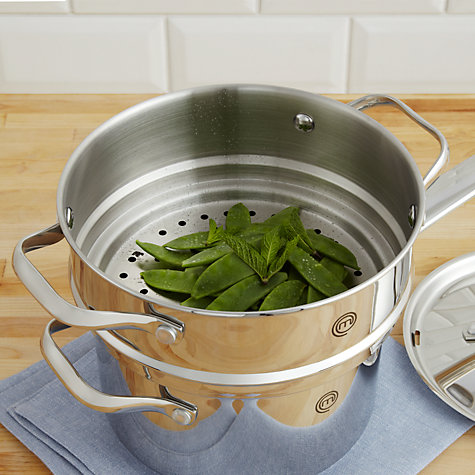 Buy MasterChef Steamer Insert, Dia.18/20cm Online at johnlewis.com