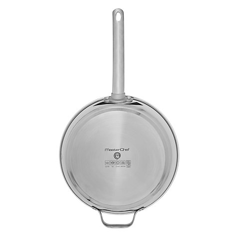 Buy MasterChef French Skillet with Helper Handle, 28cm Online at johnlewis.com