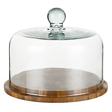 Buy Provenance Cheese Board and Dome Online at johnlewis.com