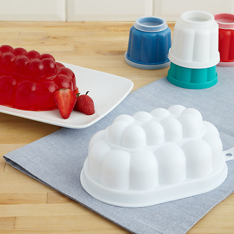 Buy Kitchen Craft White Jelly Mould, 500ml Online at johnlewis.com