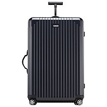 Buy Rimowa Salsa Air Spinner 4-Wheel Large Suitcase, Navy Online at johnlewis.com