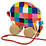 Elmer the Elephant Wooden Pull Along Toy