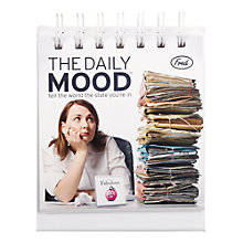 Buy Cubic Daily Mood Calendar Online at johnlewis.com