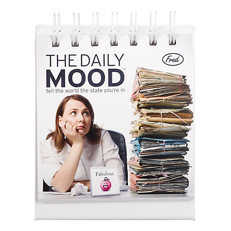 Buy Daily Mood Calendar Online at johnlewis.com