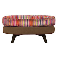 Buy John Lewis Barbican Stool Cossette / Dark Leg Online at johnlewis.com