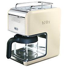 Buy Kenwood kMix CM02 Filter Coffee Maker Online at johnlewis.com
