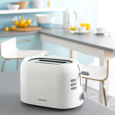 Buy Kenwood TTP200 2-Slot Toaster, White Online at johnlewis.com