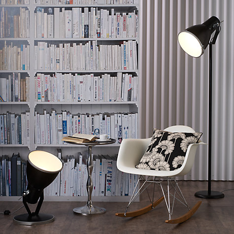 Buy Original BTC Stirrup Floor Lamp, Black Online at johnlewis.com